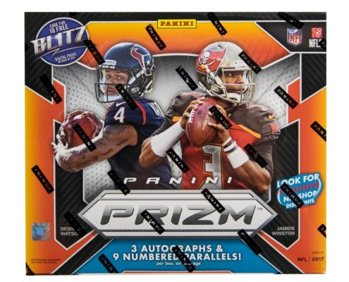 2017 Panini Prizm Football Cards Jacklsonville Sports Cards