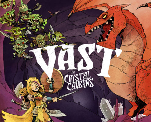 Vast: The Crystal Caverns Board game Jacksonville